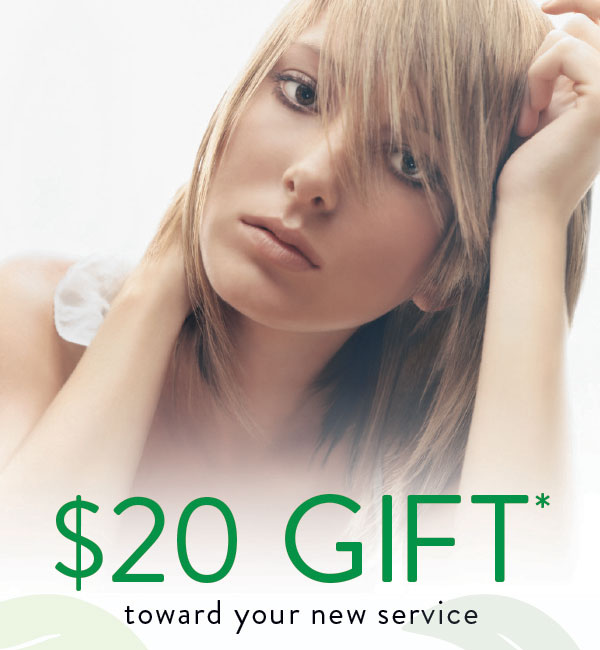 $20 NEW CLIENT OFFER